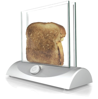 What a cool concept: Transparent Toaster