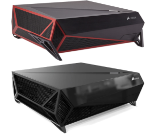 corsair bulldog itx gaming sff console pc water cooling intel i7 htpc updated 1