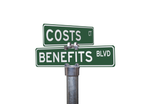 Costs v Benefits: image via Medical University of Southern Carolina