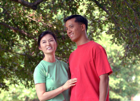 Asian Couple (Public Domain Image)