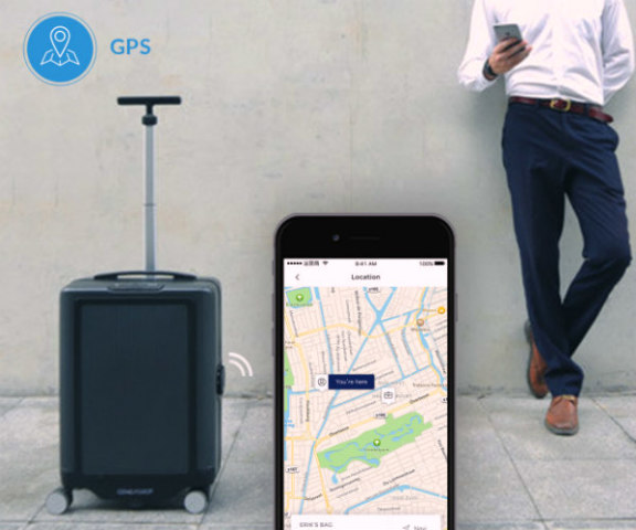 COWAROBOT R1 suitcase on Indiegogo: Robotic luggage that follows you