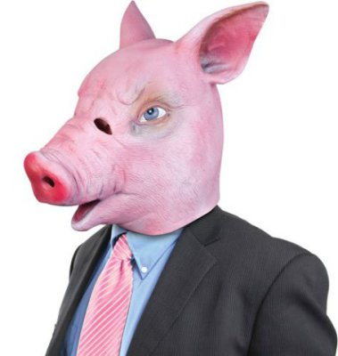 Creepy Masks: Creepy Pig Mask: Oink.
