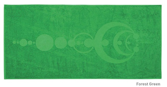 The Crop Circle Beach Towel (Image via Kickstarter)