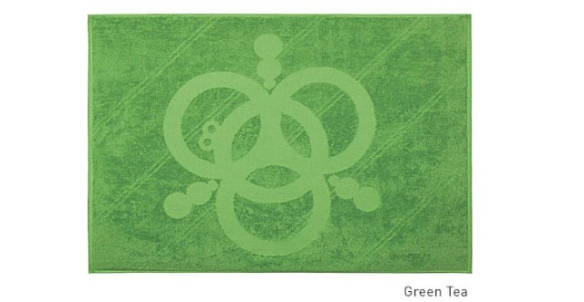 The Crop Circle Bath Towel (Image via Kickstarter)