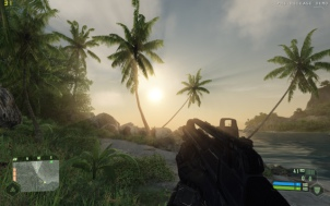 This is how Crysis looks at max settings.: Beautiful, isn't it?