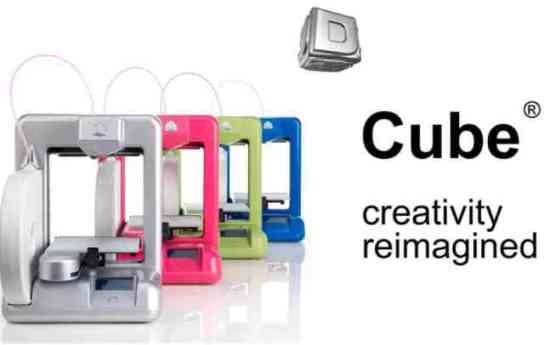 The Cube By Cubify: The 3D Printer For The Home (You Tube Image)