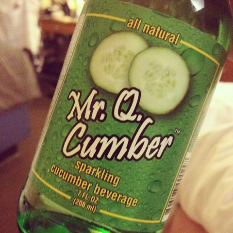 Mr. Q Cumber Sparkling Beverage