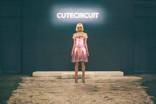 Cute Circuit dress: Source: nyfw-2014_3.jpg