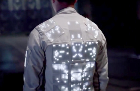 Cute Circuit LED Jacket: Source:Cute Circuit.com