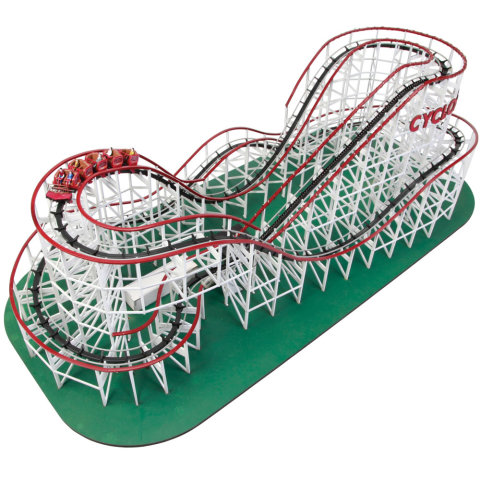 Classic Wooden Roller Coaster