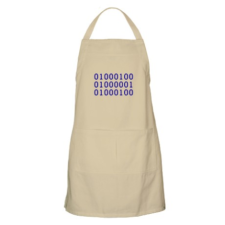 Binary Dad Apron