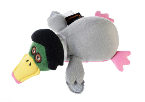 Duck Dynasty 'Miss Kay' Duck Dog Toy: image via Quaker Pet Group