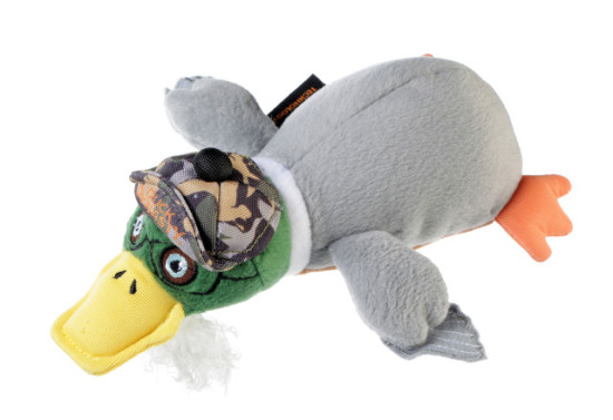 Duck Dynasty 'Si' Duck Dog Toy: image via Quaker Pet Group