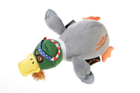Duck Dynasty 'Willie' Duck Dog Toy: image via Quaker Pet Group