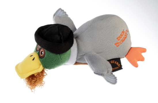 Duck Dynasty 'Jase' Duck Dog Toy: image via Quaker Pet Group