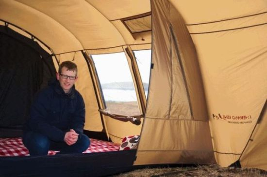 Inside Thermo Tent