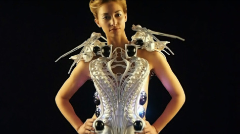 Spider Dress: Source: Designboom.com