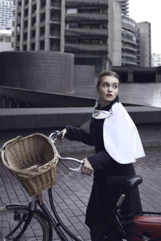 Reflective Gear- Cape: Source: Dezeen.com