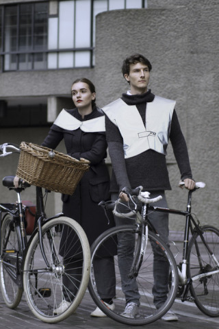 Relective wear for men and women: Source: Dezeen.com