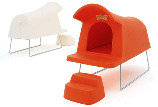 Doghouse, designed by Michael Young for Magis: image via Michael-Young.com