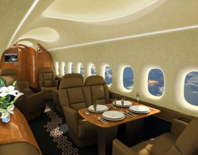 Aerion's planned interior.