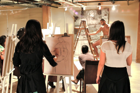 Graphic Stallions Life Drawing Party (Image via Graphic Stallions)