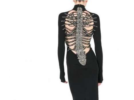 DSquared Skeleton Gown