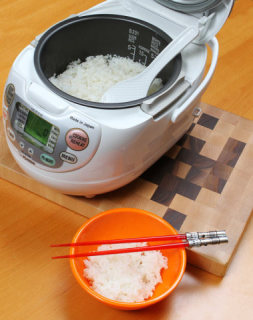 Look at the perfect rice: look at it!