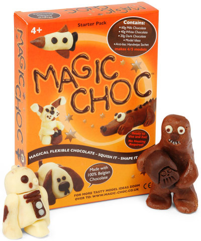 Magic Choc will bring out the creative chocolate lover in you!