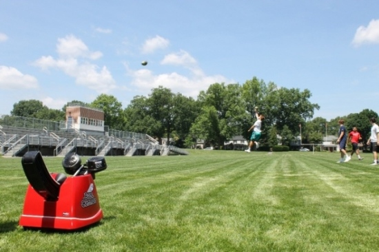 Playing Catch With Ball Cannon