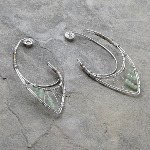 A Pair of Forest Elf Ear Clips