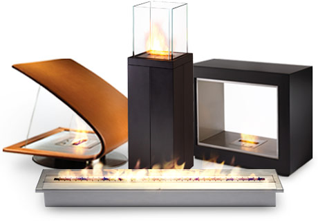 EcoSmart Bio-Ethanol Fireplaces