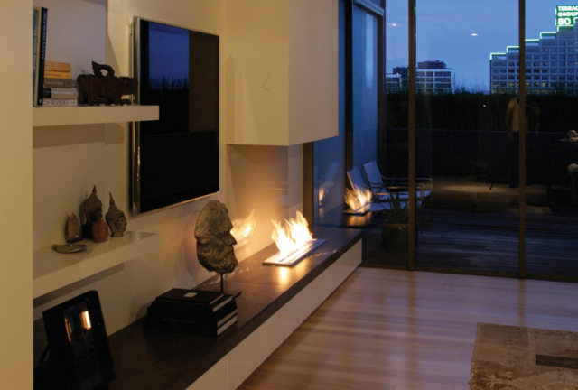 EcoSmart Free-standing Fireplace