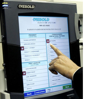 Electronic Voting Machine: Ye Newe Electronic Thingamagig
