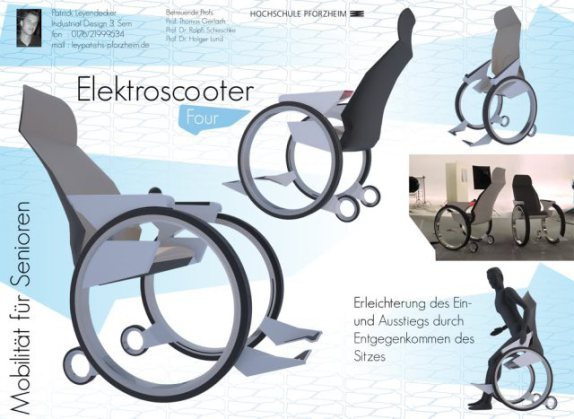 Electric Scooter (Elektroscooter) design: © Patrick Leyendecker