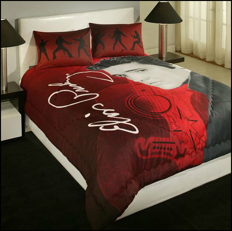 Good David Bursteen the Los Angeles based co president of Legends Home Bedding was picked by Walmart to sell his Elvis Presley Home Bedding Collection as the