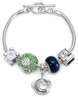 European Style ThinkGeek Charm Bracelet: image via thinkgeek.com