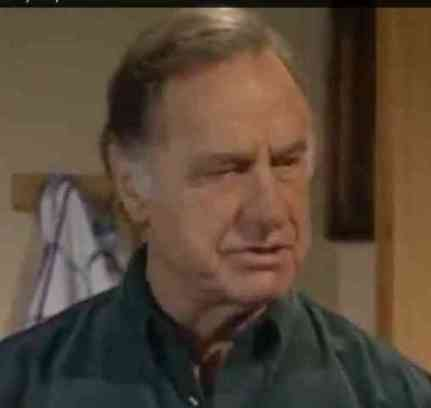 British Actor Geoffrey Palmer Often Told To Cheer Up (You Tube Image)
