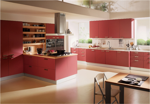 Integrated & multi-purpose living spaces are 'in' for 2011; looks like this one is in 'honeysuckle!': image via charlesandhudson.com