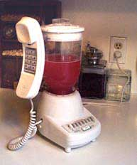 Combo Blender and Telephone