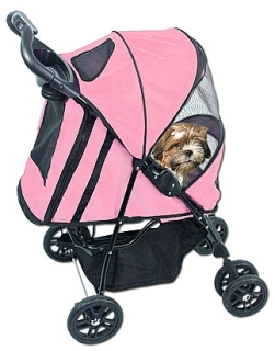 Pink Dog Stroller