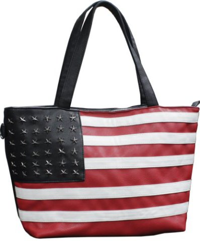 American flag accessories complete the whole look