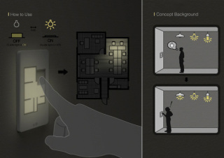 Floor Plan Light Switch: no more confusion!
