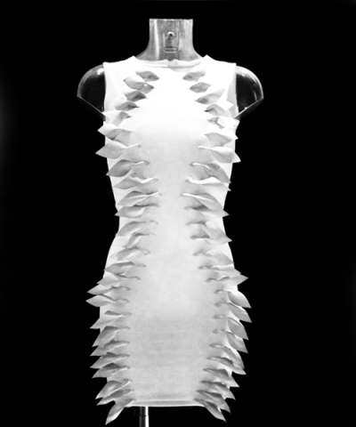 The Flutter Dress - full view: Source: Yanko design.com