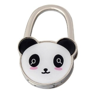 foldable panda handbag hook table hook
