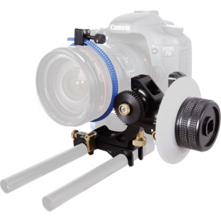 Genus G-SFOC Superior Follow Focus System for DSLR: The Genus G-SFOC Superior Follow Focus System for DSLR enables smooth focusing.