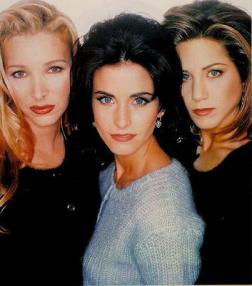 The gals from Friends were role models for a generation of women.: image via smh.com.au