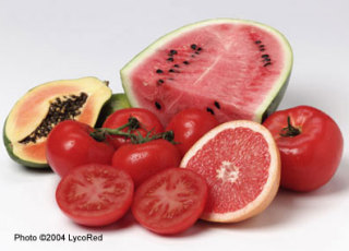 Fruits high in lycopene