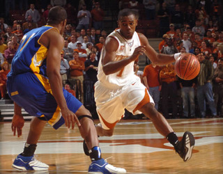 University of Texas 2006 Forward, Daniel Gibson: ©University of Texas