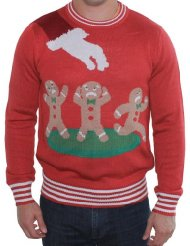 Gingerbread Man Nightmare Sweater